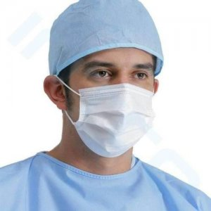 100 masques chirurgicales pour le coronavirus jetable