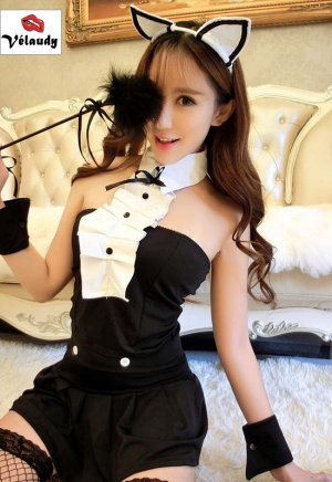 Lingerie Femme Sexy 912 Cosplay Uniforme sexy Erotique